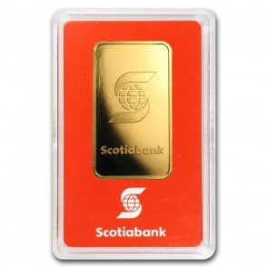 1 oz Gold Scotiabank Valcambi Bar