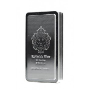 10 oz Silver Scottsdale Stacker Bars