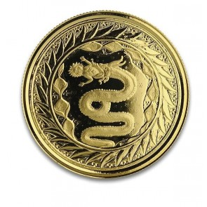 1 oz Gold Serpent of Milan Coin 2020