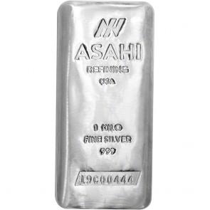 1 Kilo Silver Asahi Bar