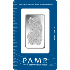 1 oz Silver PAMP Suisse Fortuna Bar