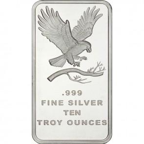 10 oz Silver SilverTowne Eagle Bar