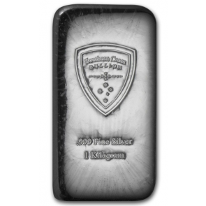 1 Kilo Silver South Cross Bullion Bars