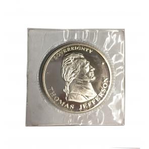 1 oz Silver Thomas Jefferson Round 1994