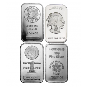 1 oz Various Silver Bars