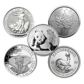 1 oz Various Silver Coin