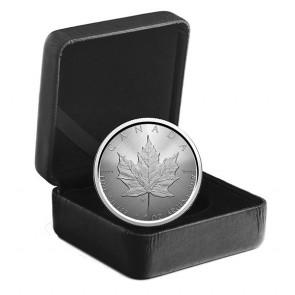 """1 oz Silver Maple Leaf """"W"""" Mint Mark Coin 2021"""
