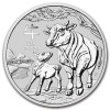 1 oz Silver Perth Mint Lunar Ox (Series III) Coin 2021