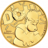 1 oz Gold Perth Mint The Simpsons: Homer Coin 2020